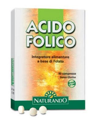 Naturando Acido Folico 90 Compresse