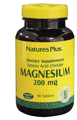 Natures Plus Magnesio 200 Chelato 90 Tavolette