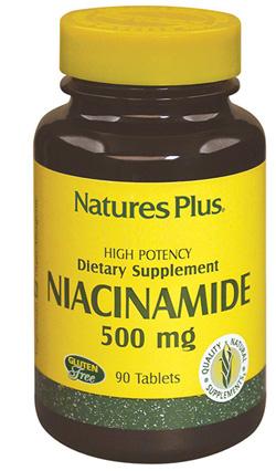Natures Plus Niacinamide 90 Tavolette