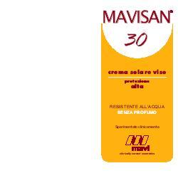 Mavi Biotech Mavisan 30 Cr Viso Prot a 60m