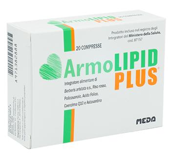 Medifarm ArmoLipid Plus Integratore Alimentare, 30 compresse