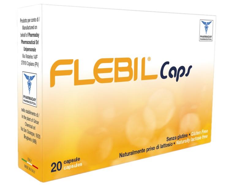 Pharmaday Pharm. Unipersona Flebil Caps 20 Capsule 8 G