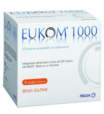 Visufarma Eukom 1000 60 Bustine Orosolubili