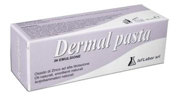 Isflabor Dermal Pasta Emulsione Con Ossido Di Zinco, 50ml