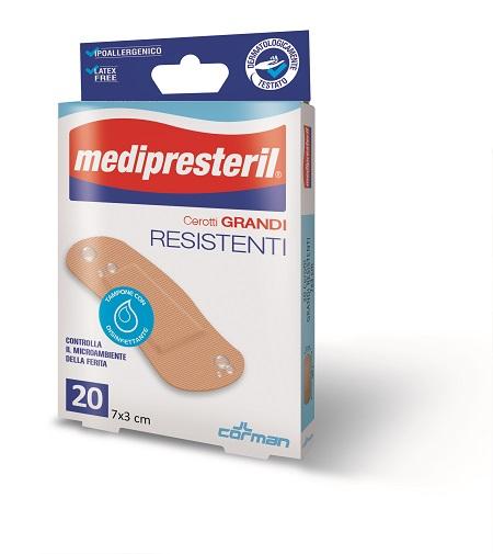 Corman Cerotto Medipresteril Resistenti Confezione Assortita 4 Formati 40 Pezzi