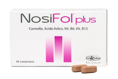 Sakura Nosifol Plus Integratore Alimentare Vitamine 30 Compresse