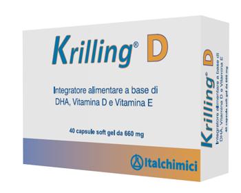 Italchimici Krilling D 40 Capsule