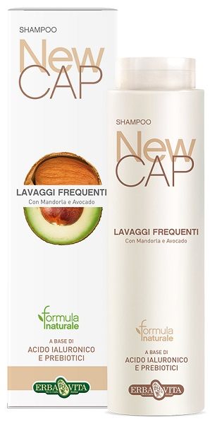 Erba Vita Newcap Shampoo Lavaggi Frequenti Delicato E Protettivo, 250ml