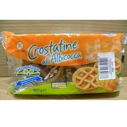 Nabu Happy Farm Crostata Di Albicocche Senza Glutine 4 Pezzi