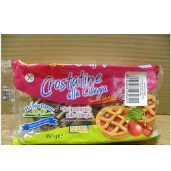 Nabu Happy Farm Crostata Alle Ciliege Senza Glutine 4 Pezzi