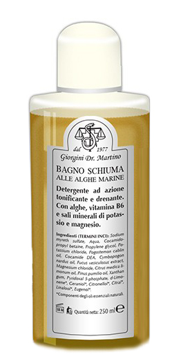 Dr.giorgini Ser vis Alghe Marine Bagnoschiuma 250 Ml