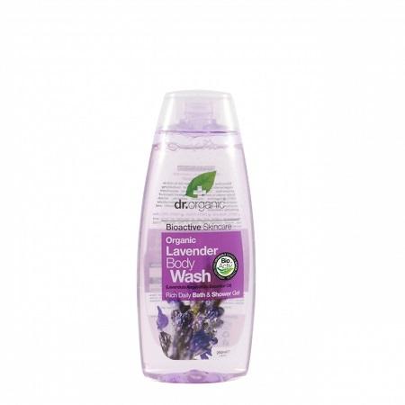 Dr Organic Lavender Body Wash, 250ml
