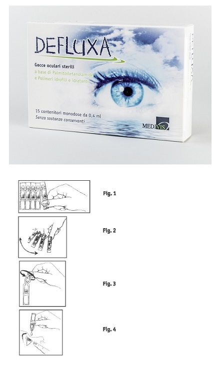 Medivis Defluxa Gocce Oculari 15 Contenitori Da 0 4 ml