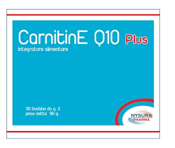 Nysura Pharma Dr. Laneri G. Carnitine Q10 Plus 30 Bustine