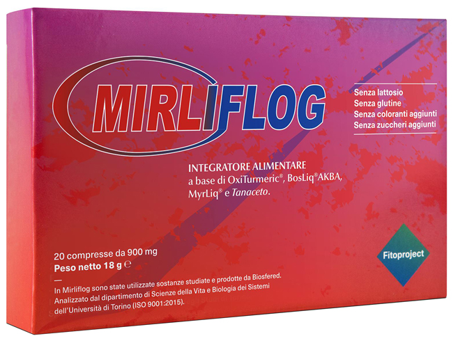 Fitoproject Mirliflog 20 Compresse
