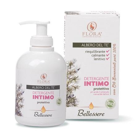 Flora Detergente Intimo Albero Del Te 250 Ml Bio-bdih