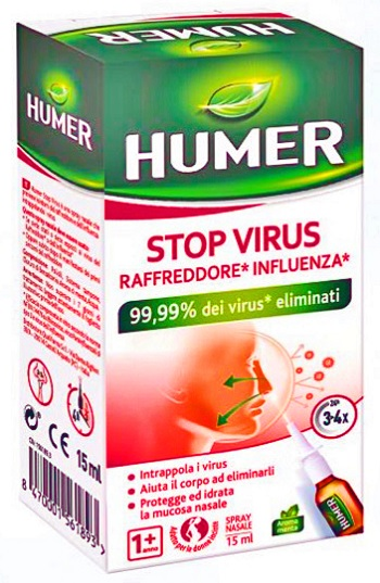 Qualifarma Spray Nasale Urgo Humer Stop Virus 15 Ml