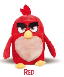 Innoliving Angry Birds Red Peluche Riscaldabile