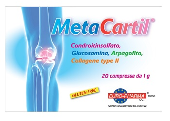 Euro pharma Metacartil 20 Compresse