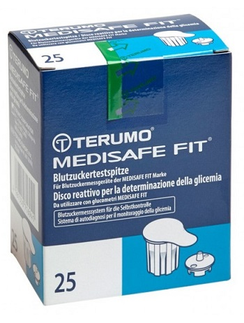 Terumo Italia Disco Per La Determinazione Della Glicemia Medisafe Fit 25 Pezzi