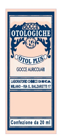 Deca Laboratorio Chimico Otol Plus Gocce Auricolari 20 Ml