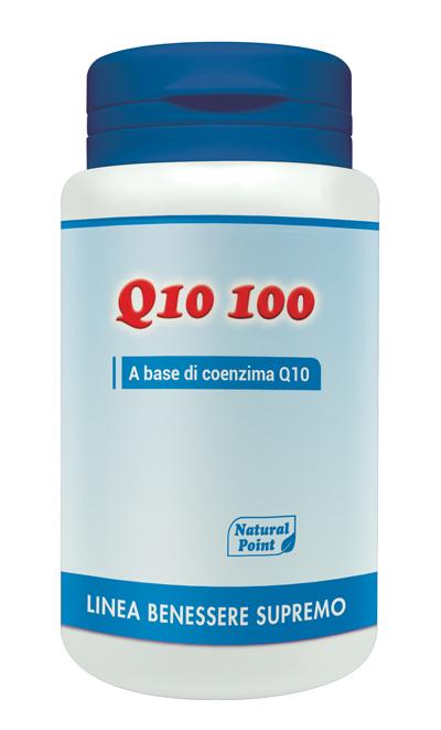 Natural Point Q10 100 Integratore Alimentare 50 Capsule Vegetali 100mg