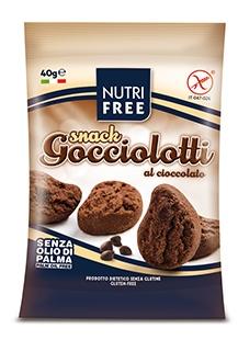 Nt Food Nutrifree Gocciolotti Al Cioccolato Snack 40 G