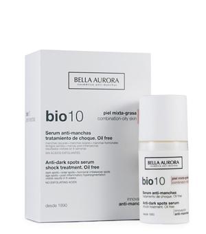 Bella Aurora Bio10 Siero Antimacchie Trattamento Shock Pelle Mista Grassa, 30ml