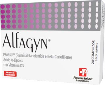Pharmasuisse Laboratories Alfagyn 20 Compresse