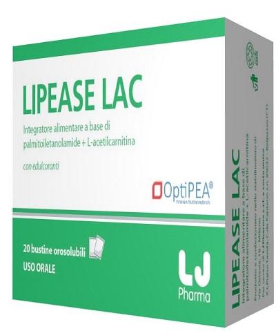 LJ Pharma Lipease Lac 20 Bustine Orosolubili 50 G
