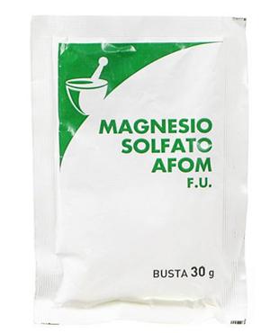 A.F.O.M. Magnesio Solfato Afom 1 Busta