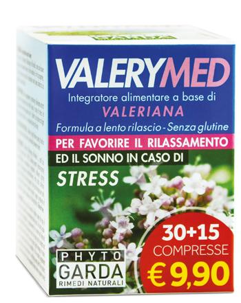 Phyto Garda Valerymed Rilascio Prolungato 30 15 Compresse