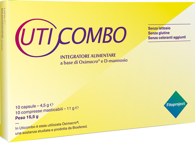 Fitoproject Uticombo 10 Capsule + 10 Compresse Masticabili