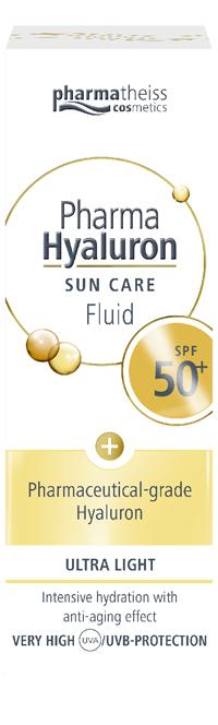 Naturwaren Italia Ptc Pharma Hyaluron Sun Care Body Fluid Spf50+ 50 Ml