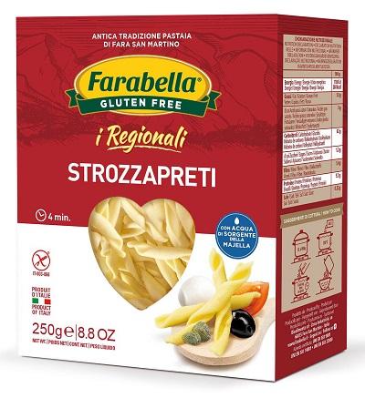 Bioalimenta Farabella I Regionali Strozzapreti Senza glutine 250g