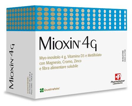 Pharmasuisse Mioxin 4G Integratore Alimentare, 30 Buste