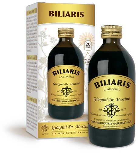 Dr.giorgini Ser vis Biliaris Liquido Analcoolico 200 Ml