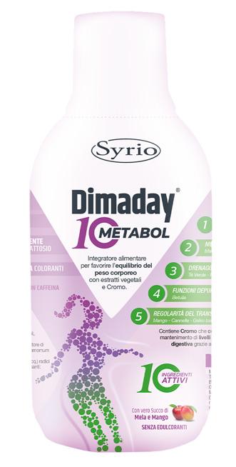 Syrio Dimaday Metabol 10 500 Ml