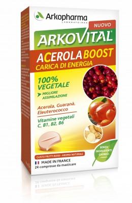 Arkopharma Arkovital Acerola Boost Integratore Alimentare 24 Compresse