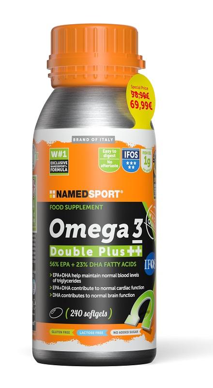 Namedsport Omega 3 Double Plus 240 Softgel Promo