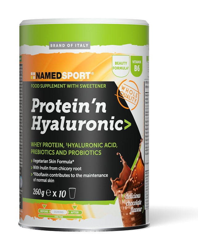 Namedsport Protein'n Hyaluronic Delicious Chocolate 260 G