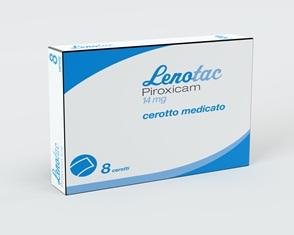 Lenotac 14 Mg Cerotto Medicato 8 Cerotti