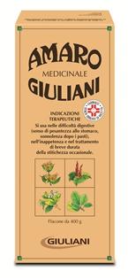 Amaro Medicinale Giuliani Flacone 400 G