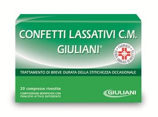 Confetti Lassat Giul Cm Compresse Rivestite, 20 Compresse