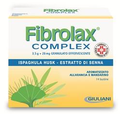 Fibrolax Complex Granulato Effervescente 14 Bustine Da 9 G