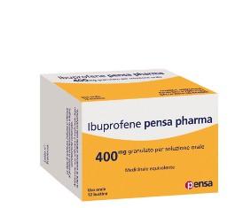 Ibuprofene Pen 400 Mg Granulato Per Soluzione Orale 12 Bustine