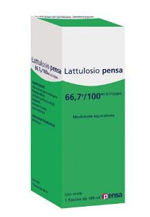 Lattulosio Pensa 66,7 G/100 Ml Sciroppo 1 Flacone Da 180 Ml