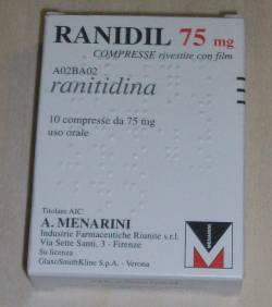 Ranidil 75 75 Mg Compresse Rivestite 10 Compresse