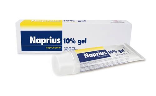 Naprius 10% Gel Tubo 30 G