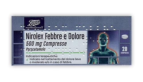 Nirolex Febbre Dol 500 Mg Compresse 20 Compresse